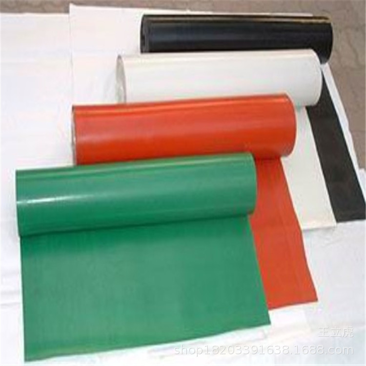 供应耐高温耐酸碱橡胶板 网格板 阻燃板