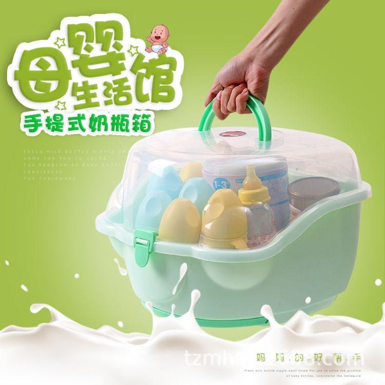 奶瓶保温箱 母乳保鲜箱背奶箱加厚保温箱便当冷藏储便携奶瓶箱