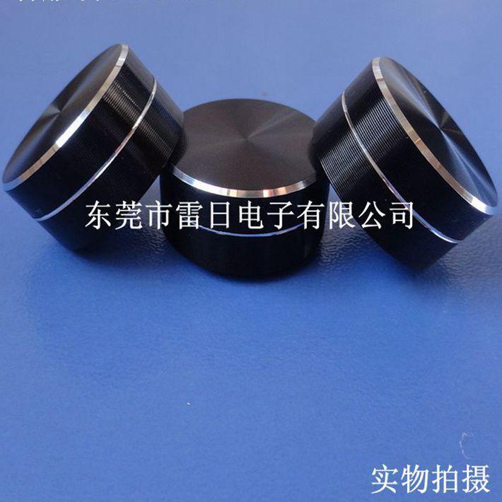 精密电位器开关帽铝合金旋钮直径20MM高度10MM音量开关帽厂家批发