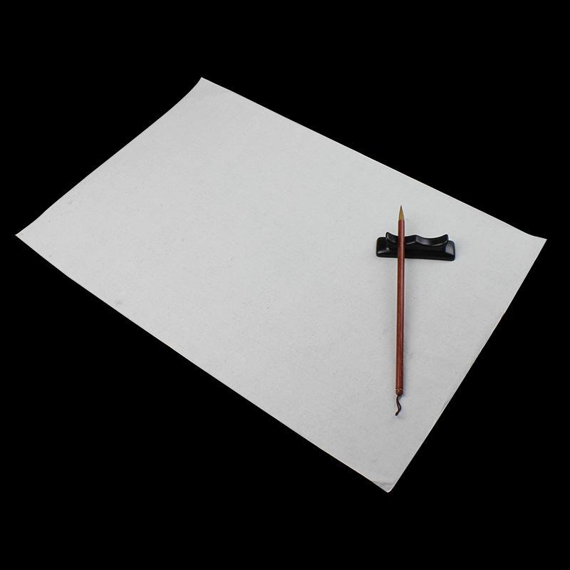 书法国画初学者练习4开8开白生宣纸练习毛笔字画画高级书画宣纸