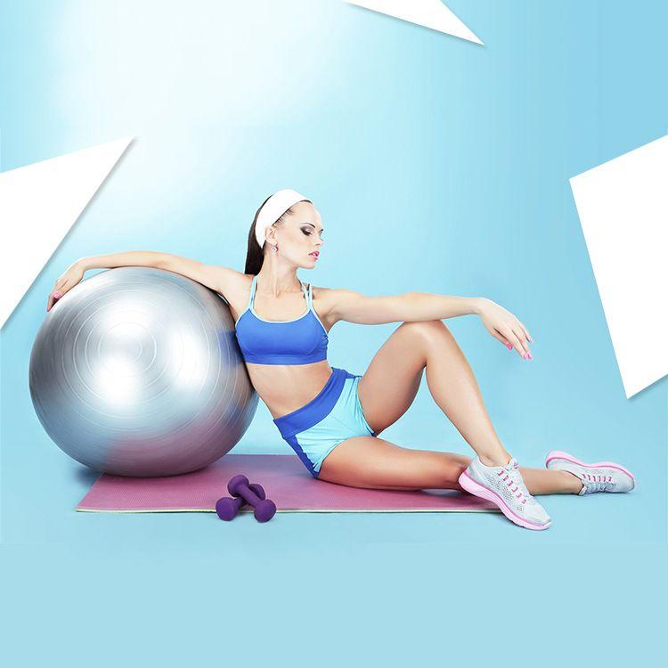 瑜伽球加厚防爆正品初学者健身球儿童孕妇分娩球平衡瑜珈球75cm