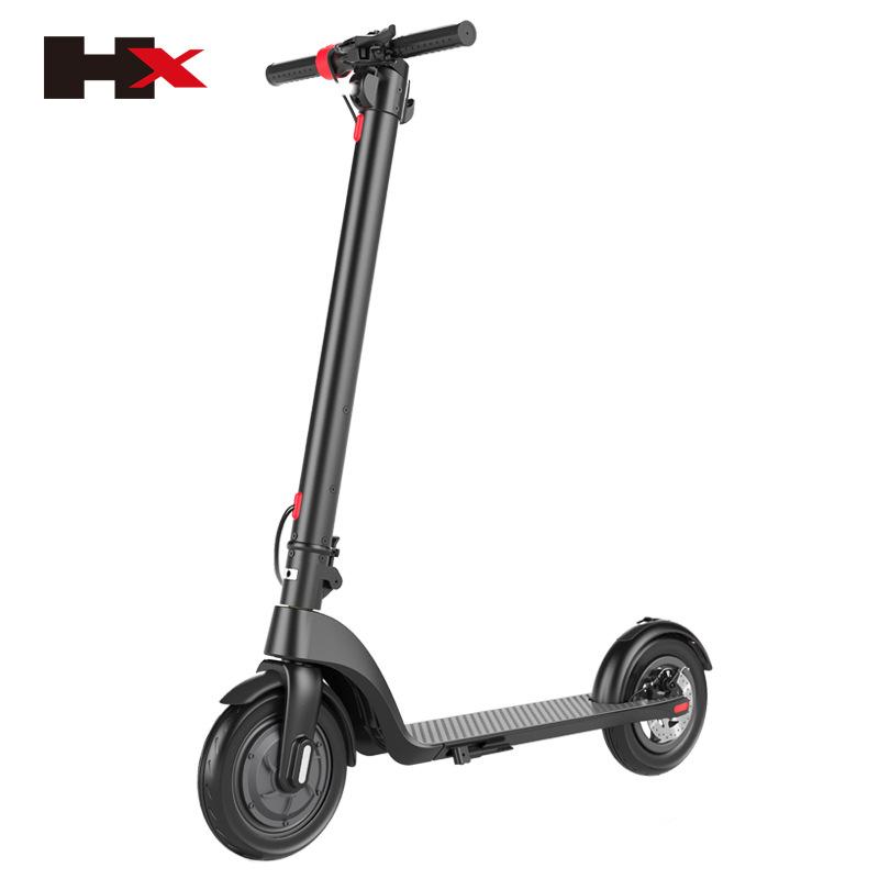 电动滑板车新品X7越野 两轮滑板车8.5寸10寸充气胎 可加座折叠