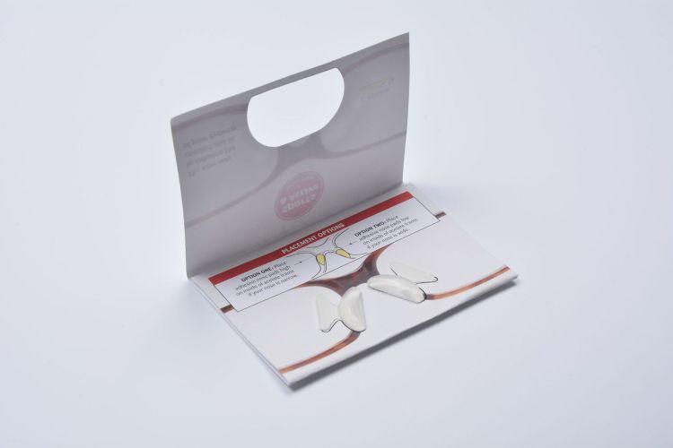 厂家直销 防滑鼻垫 硅胶增高碟形鼻垫 眼镜配件立体硅胶鼻托