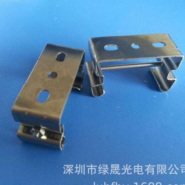 LED三防灯安装卡扣led三防灯固定卡扣 led三防灯不锈钢卡扣