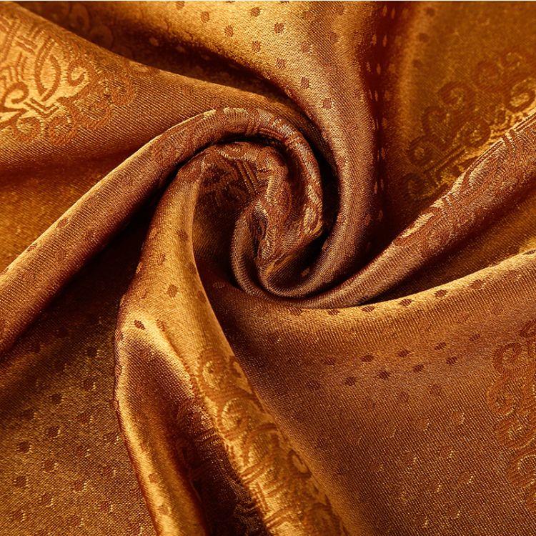 厂家直销氨纶弹力提花布 柔软耐磨民族服饰腰带用氨纶弹力提花布