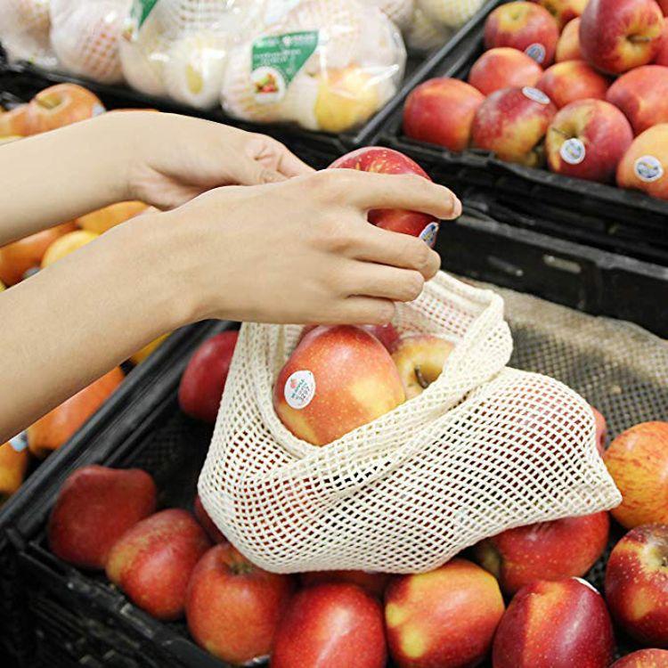 产地货源 环保水果蔬菜收网棉袋子
