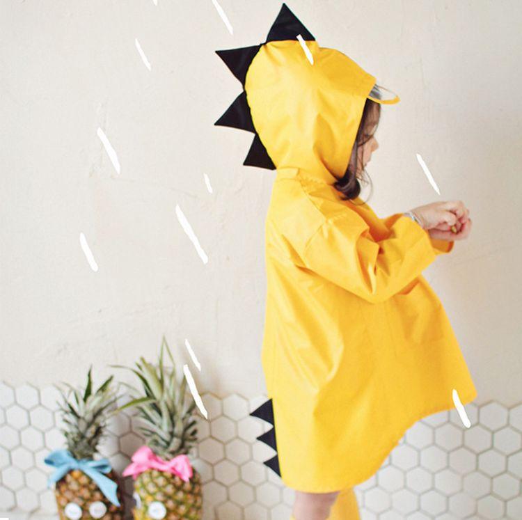 Smally小恐龙雨衣儿童女童男童幼儿园学生宝宝小孩小童幼儿园雨披