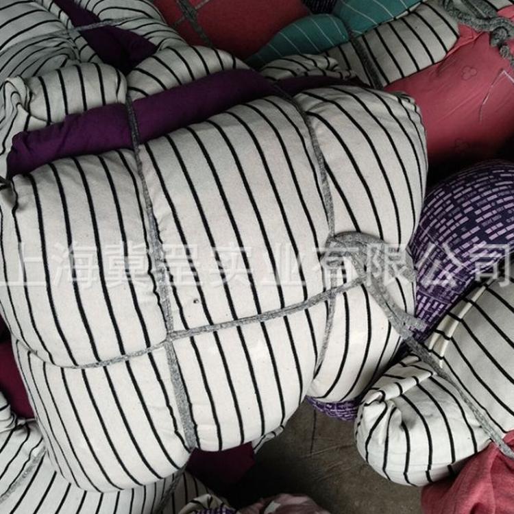 擦机布 全棉工业抹布 棉布花旧布 花色纯棉大块布棉质布料