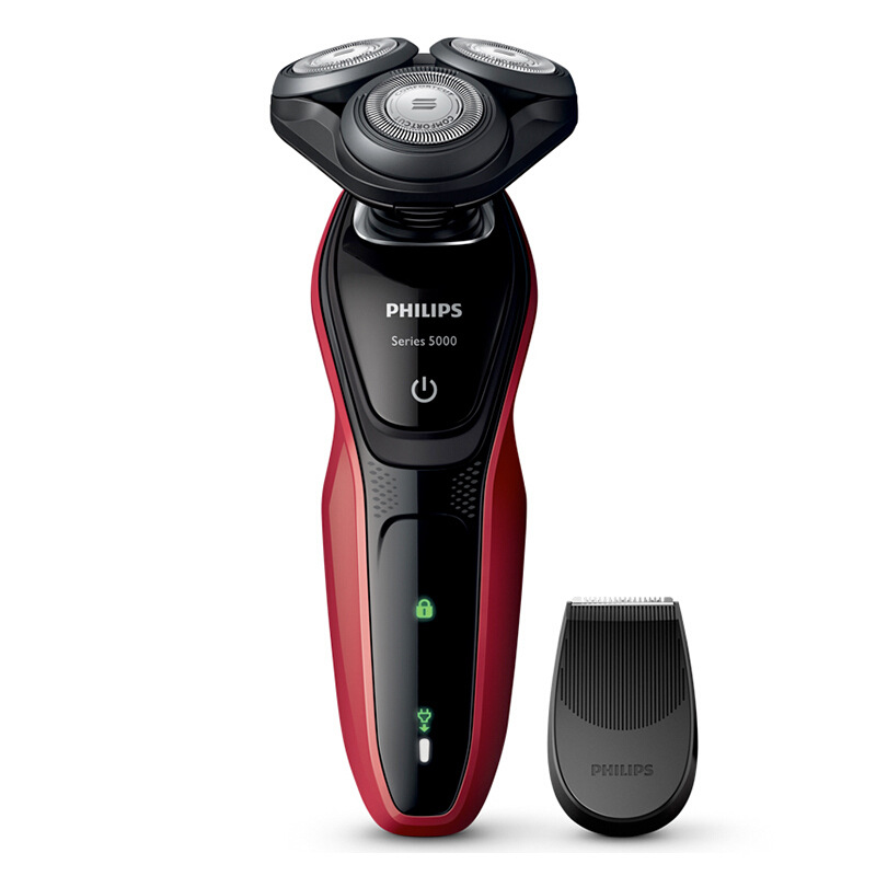 Philips/飞利浦剃须刀S5078/04男士电动剃须刀三刀头多功能刮胡刀