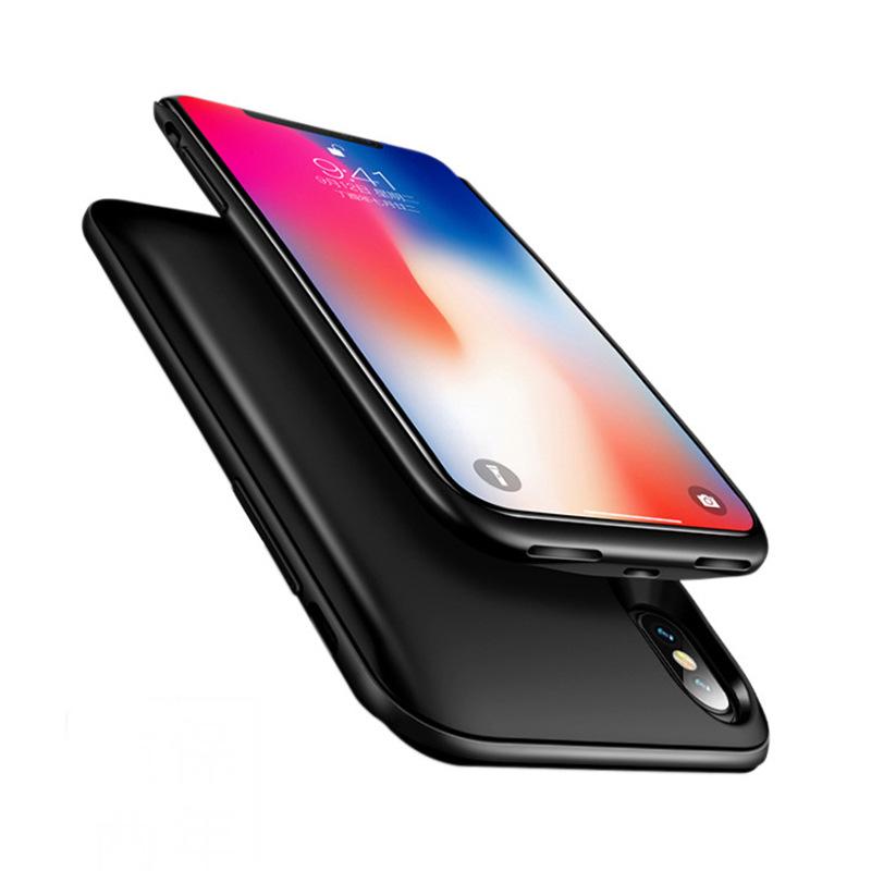 新款手机充电壳手机背夹双卡双待移动电源超薄软胶保护壳充电器