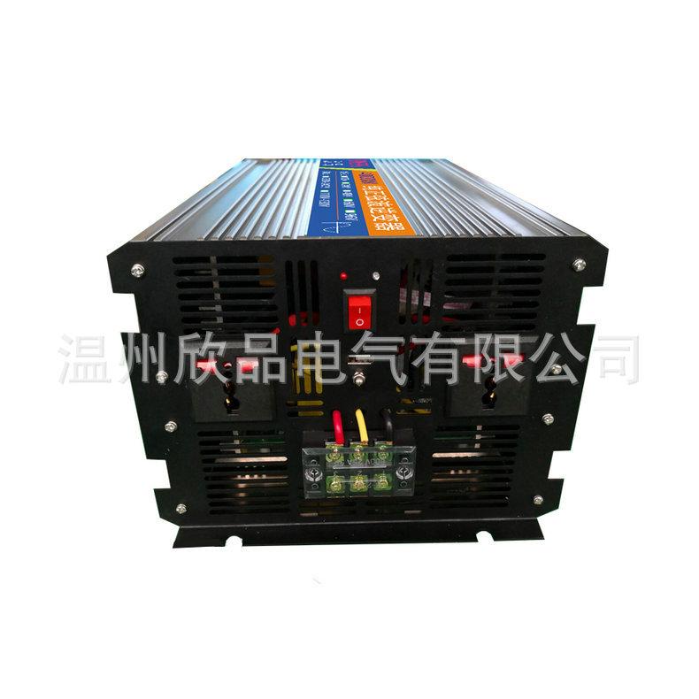 正弦波4000W逆变器24V48V转220V110V大功率太阳能家用水泵逆变器