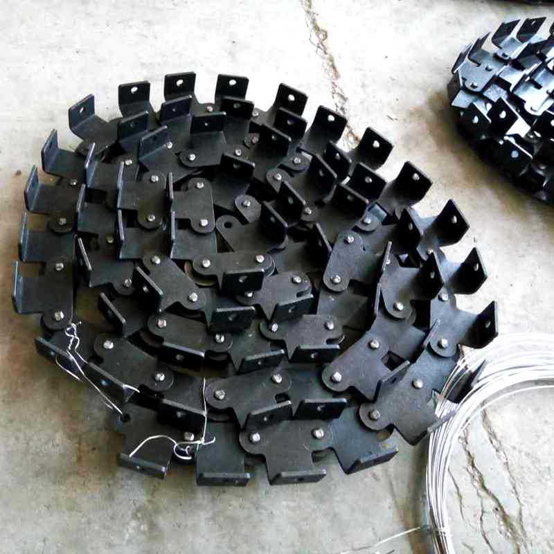 重型工业滚子输送链条厂家非标定制F轮弯板链条双节距精密滚子链