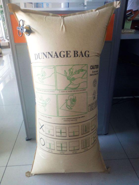 厂家批发牛皮纸集装箱充气袋 集装箱气囊 物流包装 防震气泡袋