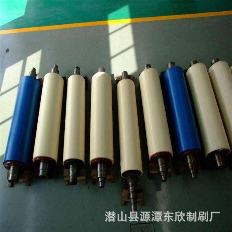 输送带胶辊  PVC橡胶辊胶辊传动胶辊刻纹胶辊  友达刷业厂家