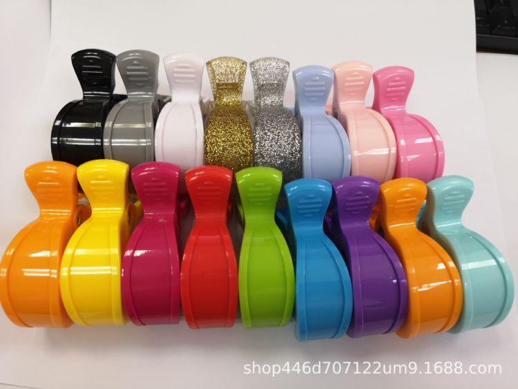 圣恩 塑胶鳄鱼夹子 推车夹 塑料玩具配件