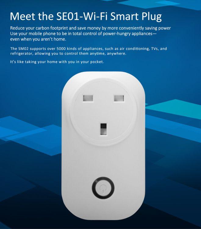 热卖智能插座 WIFI智能插座 亚马逊Alexa语音控制智能插座英规