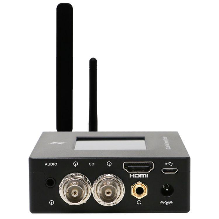 天创恒达 80HS多卡聚合直播编码器 高清视频HDMI SDI 5网聚合