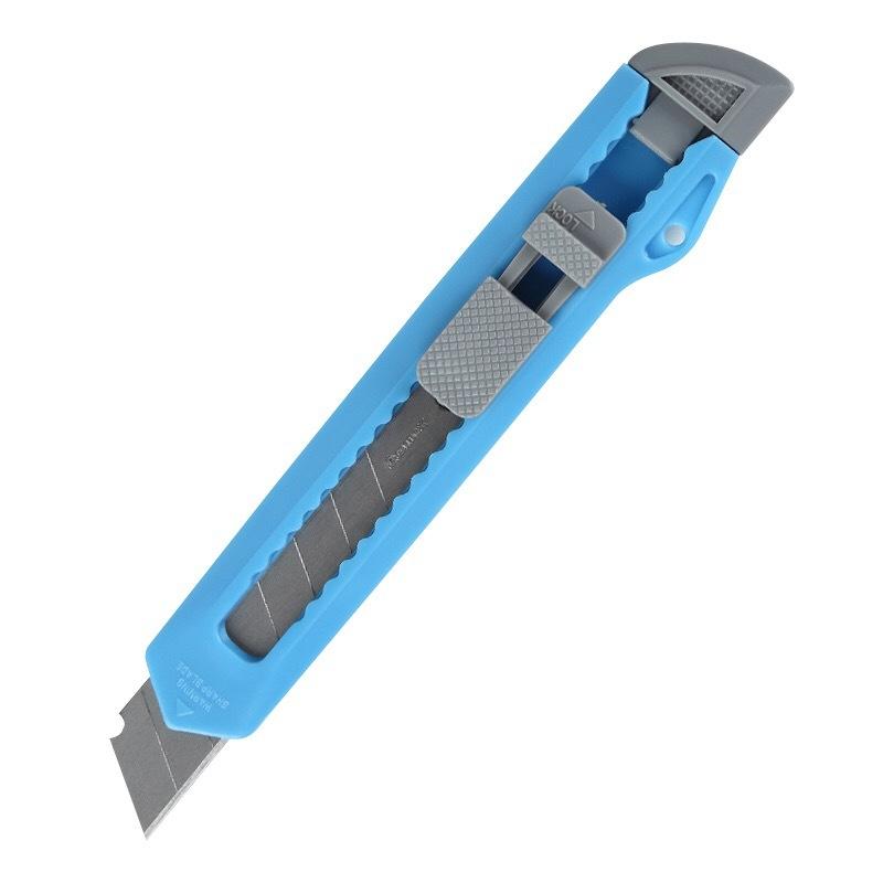 厂家直销 批发 齐心 B2809 19mm 大号塑胶壳简易美工刀 办公用品
