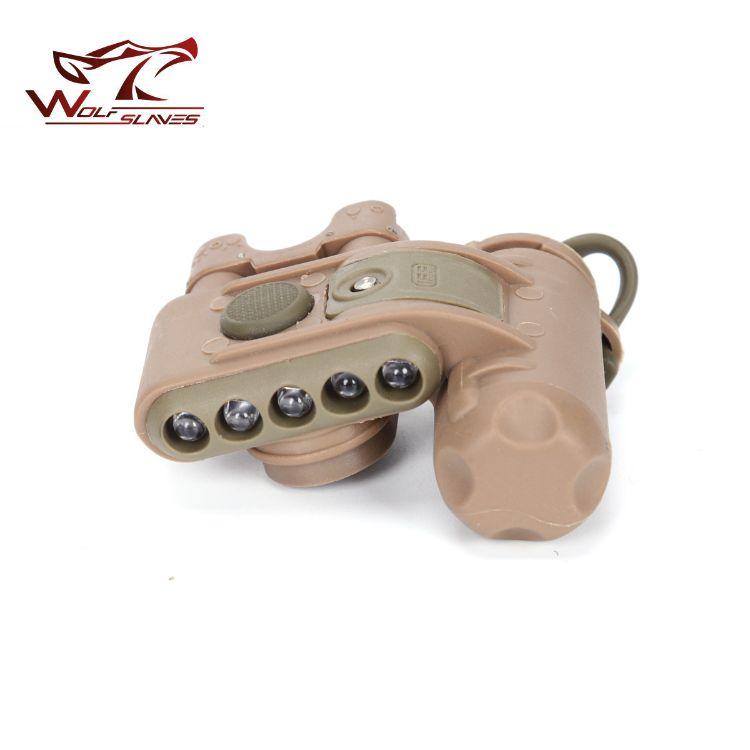 广州狼奴-元素2代FAST头盔灯 野营户外信号识别求生灯