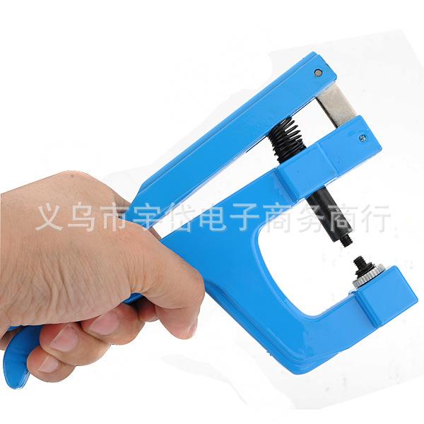 热销轧胶盖钳 压表壳工具 铝压盖钳 压手表后盖/平表蒙工具