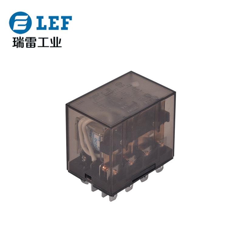 雷福鑫厂家直销中间继电器LL4C 小型电磁继电器加工 电磁继电器