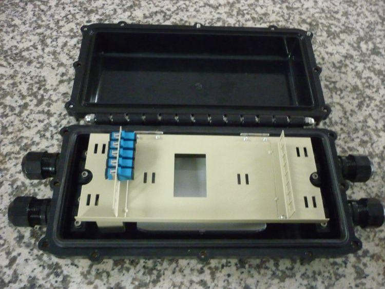光分路器光缆接头盒   分光型光缆接头盒