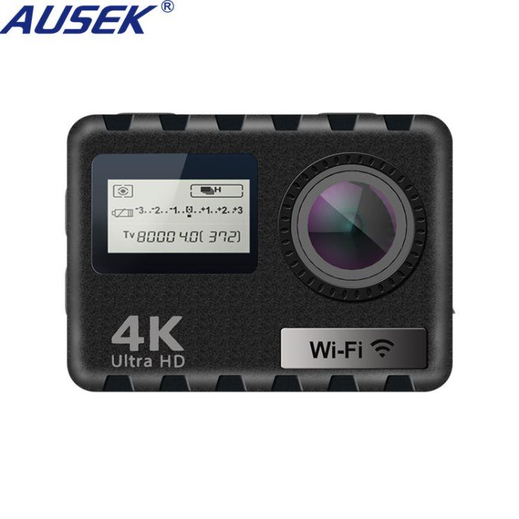 工厂直销 4K私模双屏户外运动相机 防水数码照相机 迷你摄像机