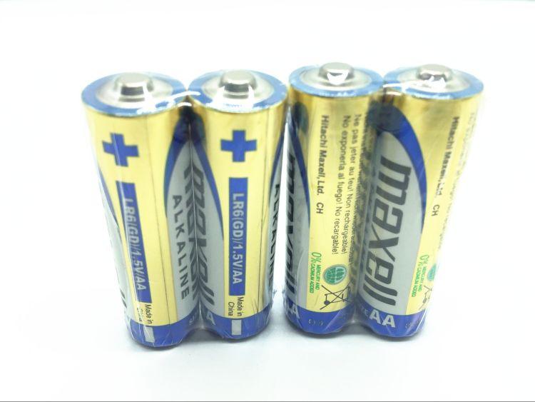 正品保证MAXELL麦克赛尔AA (万胜) 5号碱性电池