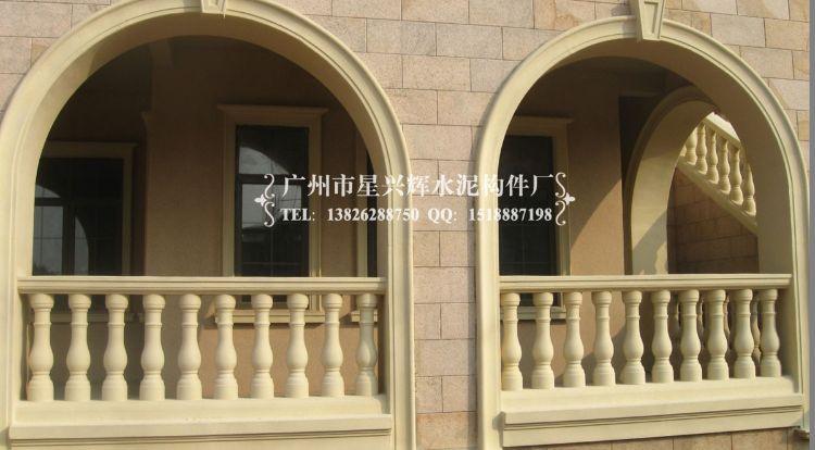 厂价供应别墅住宅阳台欧式风格护栏 水泥花瓶护栏