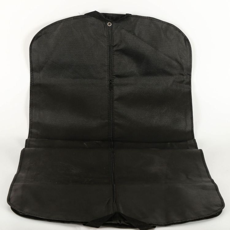 厂家批发无纺布西装袋子定做大衣防尘罩定制服装收纳袋直销西装套