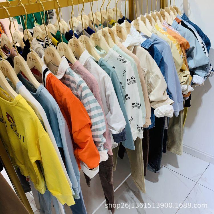 时尚潮流童装本比小熊春款上新 品牌折扣童装批发货源