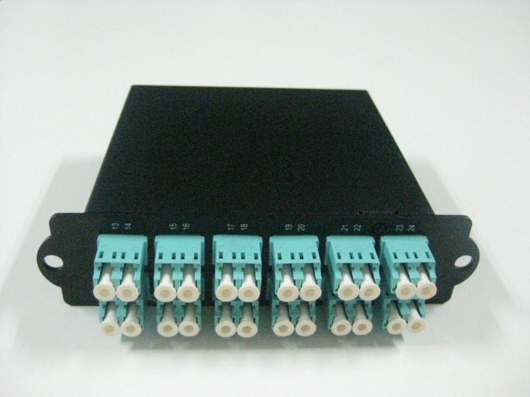厂家直销 MPO高密度24芯光纤配线架  MPO-LC 质量保证 可定制