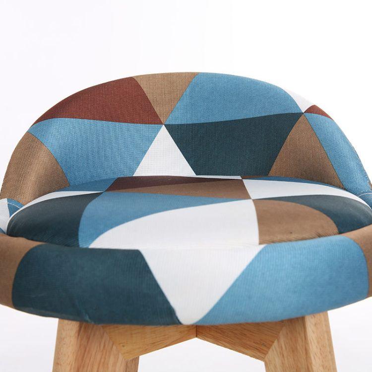 厂家直销 批发销售 实木布艺 小帽子吧凳