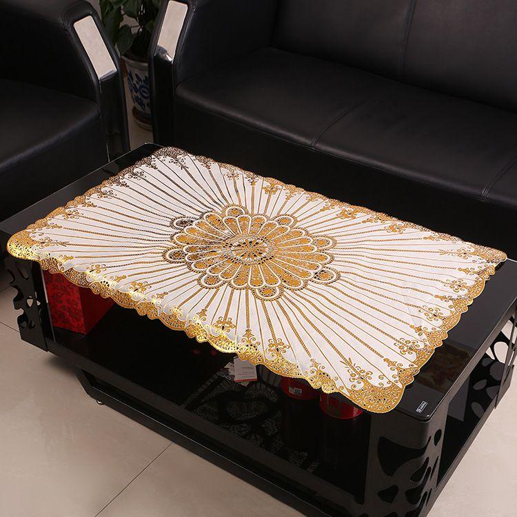 创意印花环保餐垫 烫金烫银餐垫  防水防滑西餐垫 桌垫盘垫