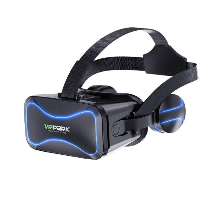 新款VRPARK 3D VR 眼镜 虚拟现实头盔 耳机款