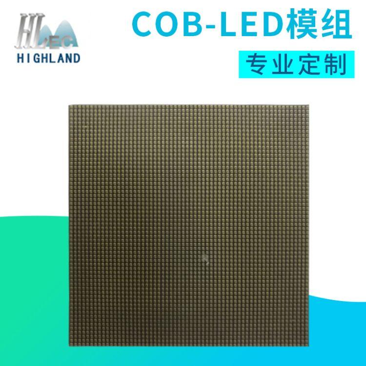 60*60集成COB LED模组 LED全彩显示屏