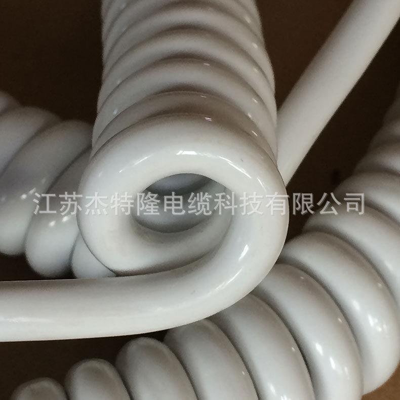 厂家销售 弹弓电源线 彩色弹弓线 弹簧电源线