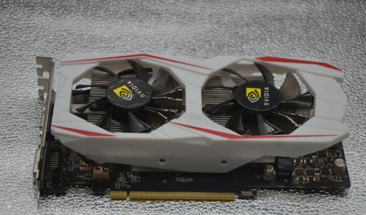 高清独立台式电脑2G游戏显卡畅玩逆水寒 盒装吃鸡gtx750ti