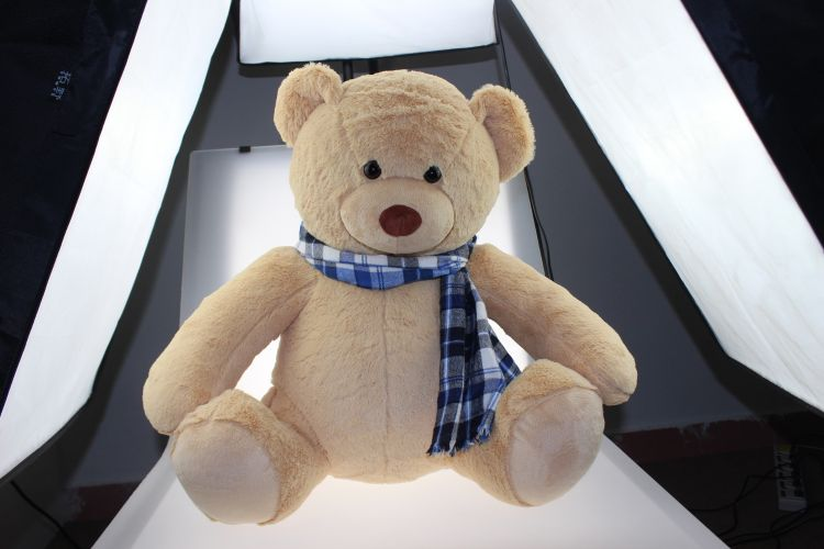 30公分  粉紫色PV绒熊仔 多造型毛绒玩具礼品 赠品 开发
