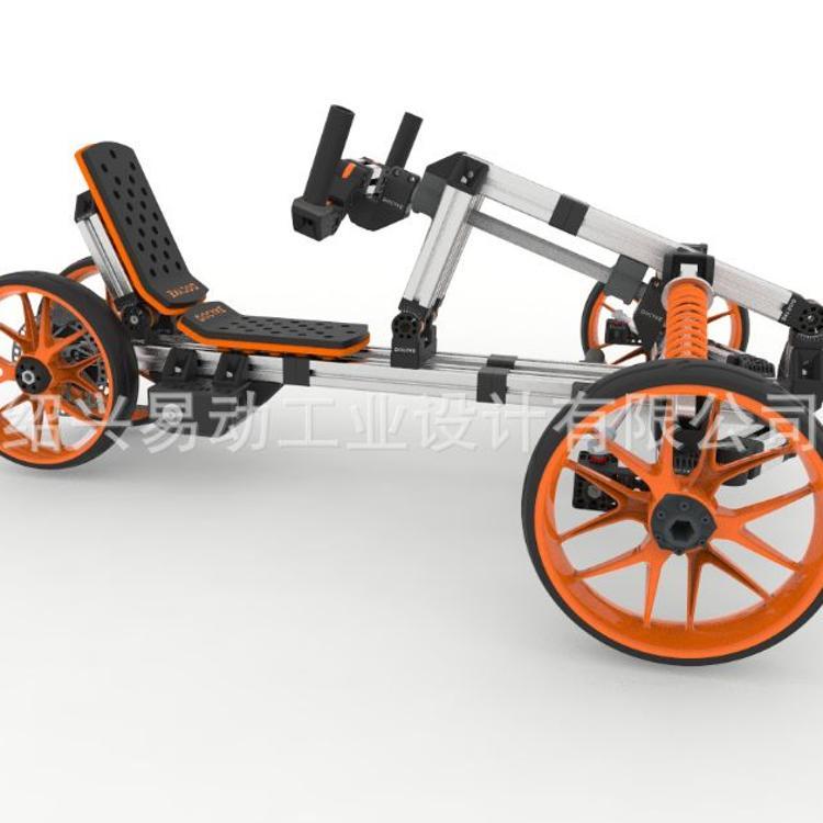 百变童车DIY益智拼装滑板车模块化组装锂电动卡丁车升级包