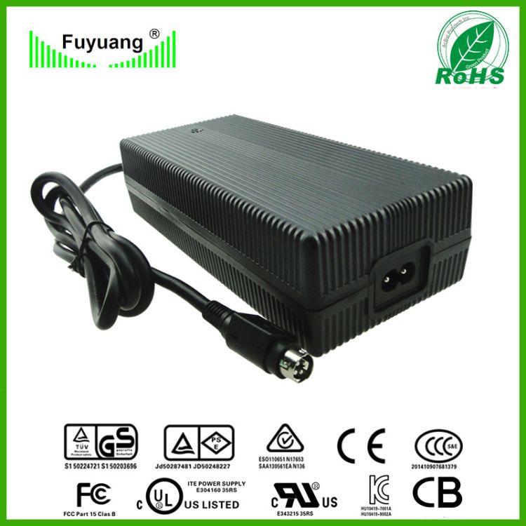 澳洲RCM 48V3A 54.6V3A充电器 充电动车 13节锂电池组充电器