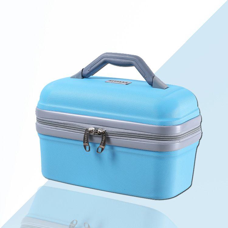 12寸手提护肤品收纳箱 防水 手提化妆箱包