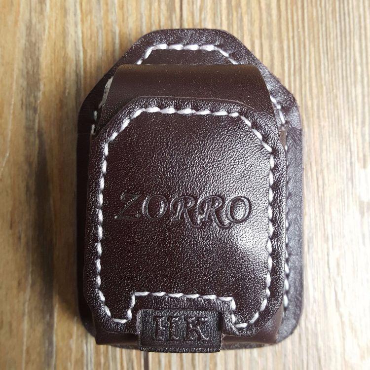 香港正品佐罗zorro正版原装煤油打火机精装皮套批发