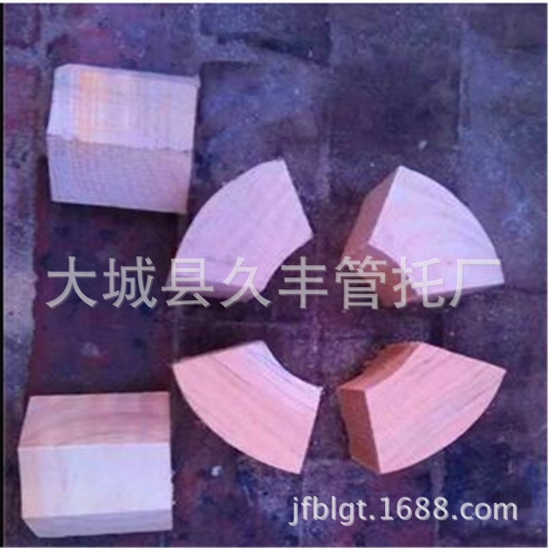 销售 管道支撑木块 木托码 保冷管道木托 木卡托 支撑木垫