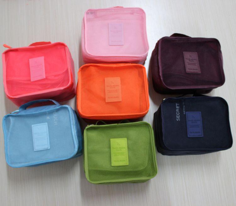 韩国旅行收纳袋 收纳包 整理袋 旅行套装洗漱包多功能