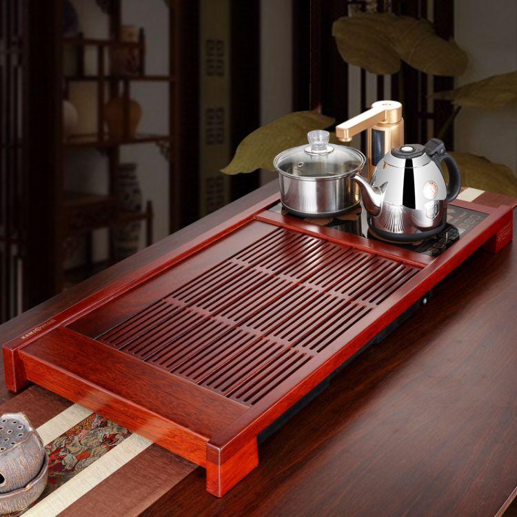 KAMJOVE/金灶K-188家用茶盘整套功夫茶具套装茶海全智能茶盘茶台
