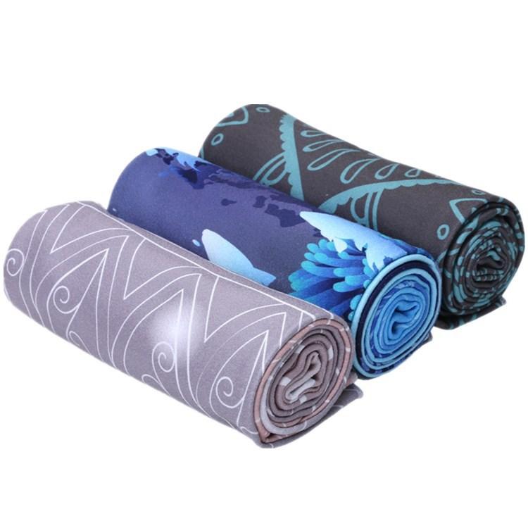 派度便携瑜伽铺巾正品初学者女加长防滑吸汗包角毯子厂家批发包邮