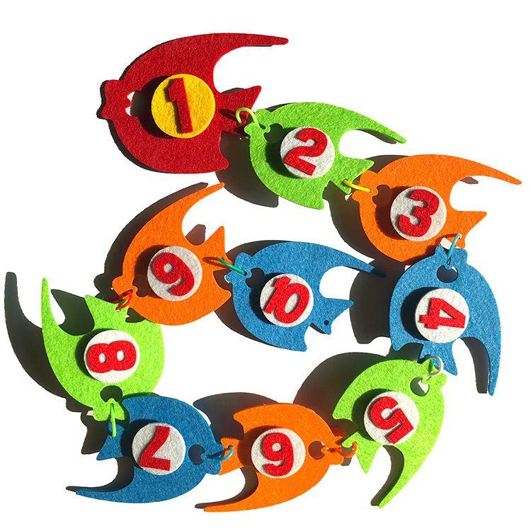 儿童智力开发数字早教教具 diy创意手工材料益智玩具教学外贸爆款