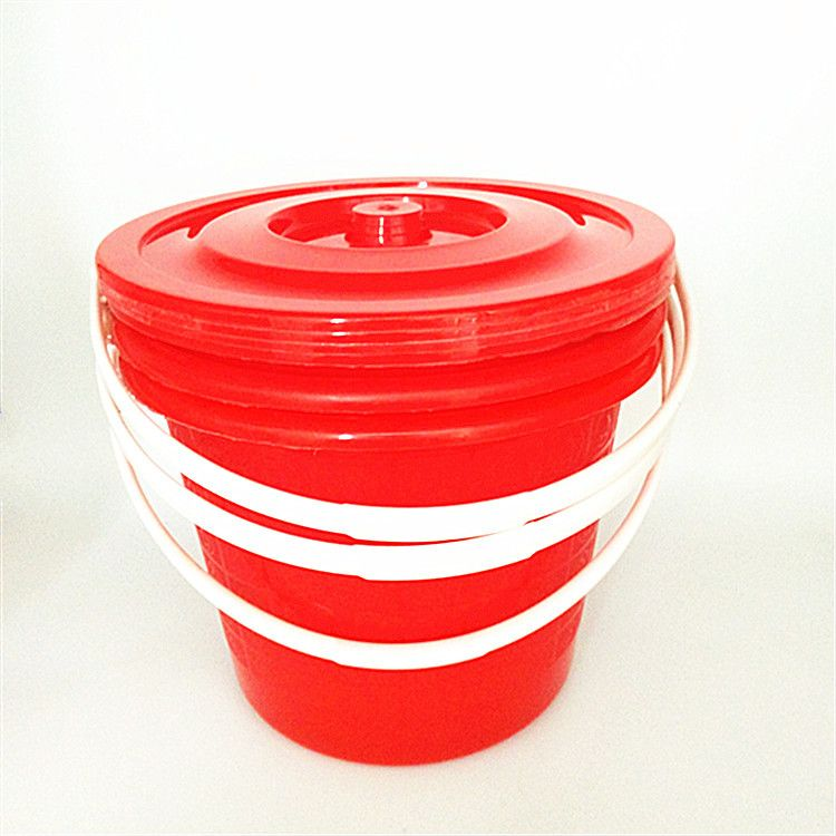 厂家直销 迷你塑料小桶 红色家用提水 储水桶 小号腌菜桶 塑料桶