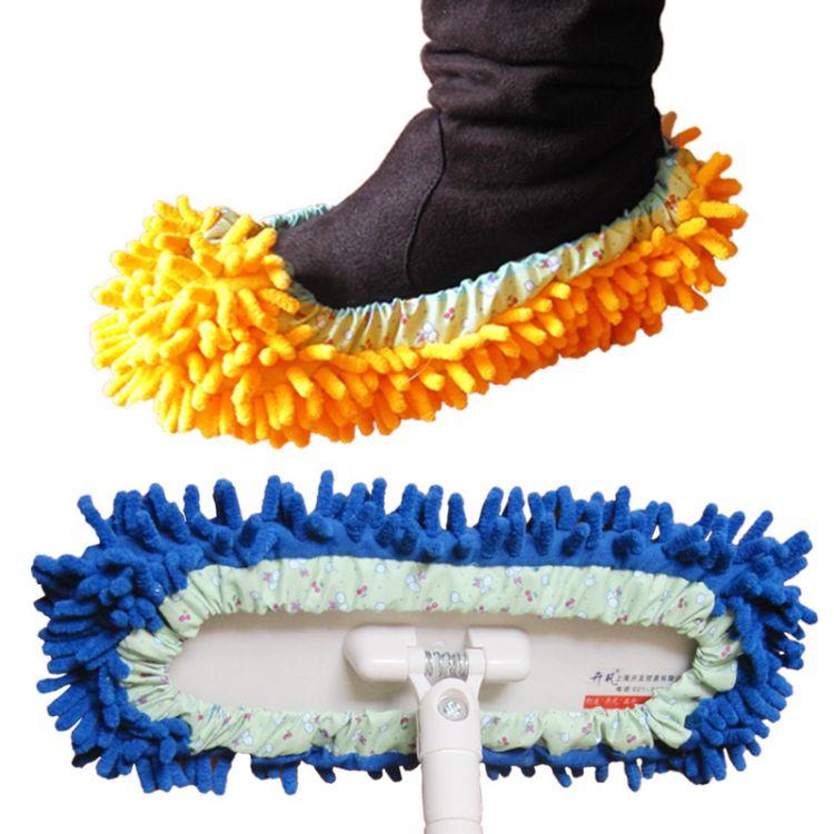 厂家直销 雪尼尔脚套 懒人鞋套 多颜色可选 雪尼尔鞋1双价
